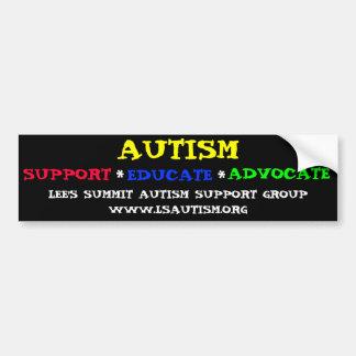 De Sticker van de Bumper van de Steun van het auti