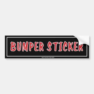 De Sticker van de Bumper van de Sticker van de