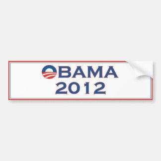 De Sticker van de Bumper van de Verkiezing van Oba Bumpersticker