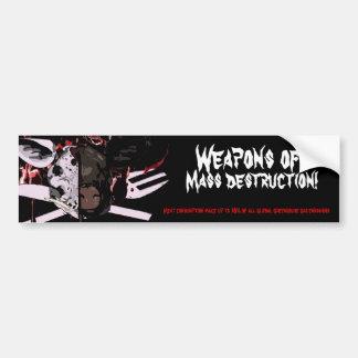 De Sticker van de Bumper van de Vernietiging van d