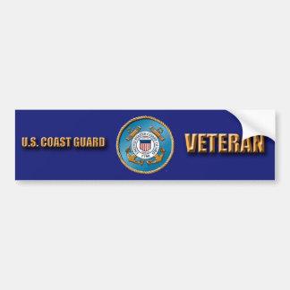 De Sticker van de Bumper van de Veteraan USCG
