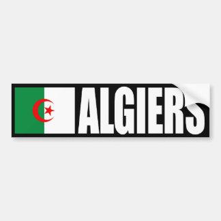 De Sticker van de Bumper van de Vlag van Algiers