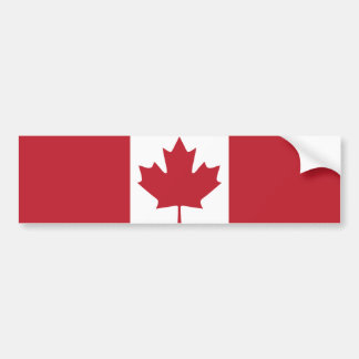 De Sticker van de Bumper van de Vlag van Canada