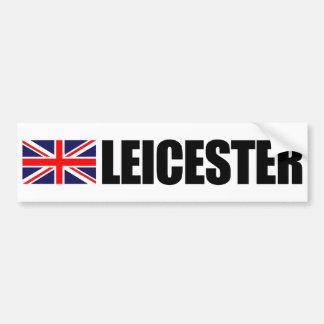De Sticker van de Bumper van de Vlag van Leicester