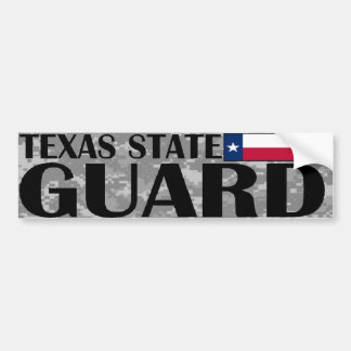 De Sticker van de Bumper van de Wacht van de Staat