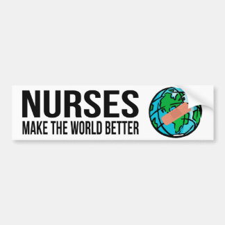 De Sticker van de Bumper van de Wereld van verplee