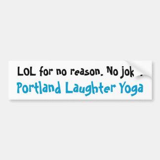 De Sticker van de Bumper van de Yoga LOL van het G