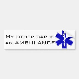 De Sticker van de Bumper van de ziekenwagen