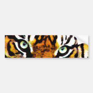 De Sticker van de Bumper van Eyes_ van tijgers