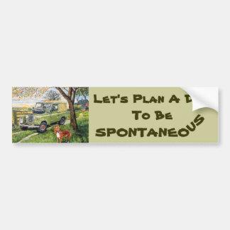 """De Sticker van de Bumper van het """"boerderij"""" met"""