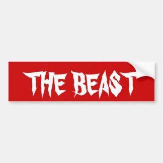 De Sticker van de Bumper van het dier