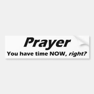 De sticker van de Bumper van het gebed!