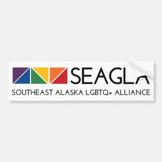 De Sticker van de Bumper van het Logo SEAGLA