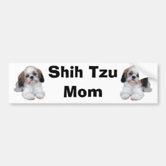 De Sticker van de Bumper van het Mamma van Tzu van