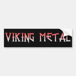 De Sticker van de Bumper van het Metaal van Viking