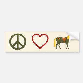 De Sticker van de Bumper van het Paard van de Pone