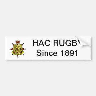 De Sticker van de Bumper van het Rugby HAC