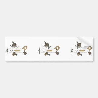 De Sticker van de Bumper van het vliegtuig Bumpersticker