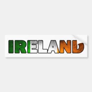 De Sticker van de Bumper van Ierland