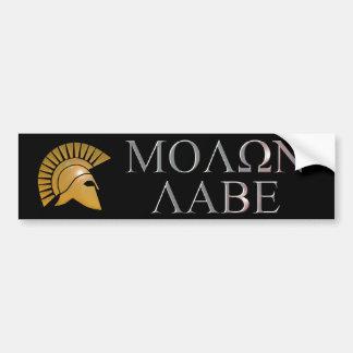 De Sticker van de Bumper van Labe van Molon - kies