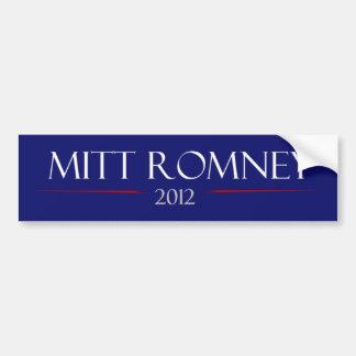 De Sticker van de Bumper van Mitt Romney 2012