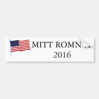 De Sticker van de Bumper van Mitt Romney 2016