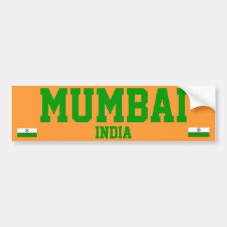De Sticker van de Bumper van Mumbai
