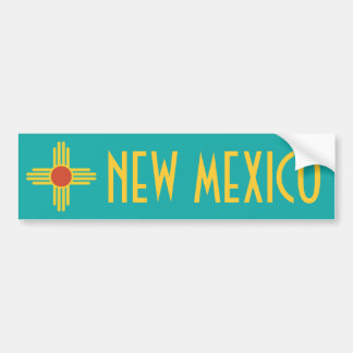 De Sticker van de Bumper van New Mexico