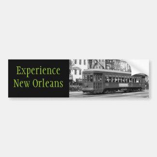 De Sticker van de Bumper van New Orleans van de er