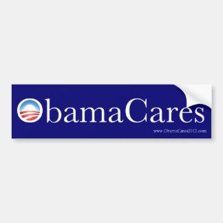 De Sticker van de Bumper van ObamaCares