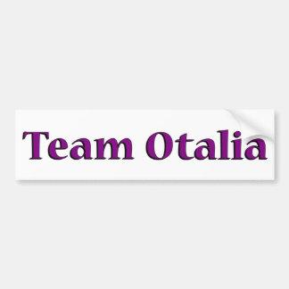 De Sticker van de Bumper van Otalia van het team