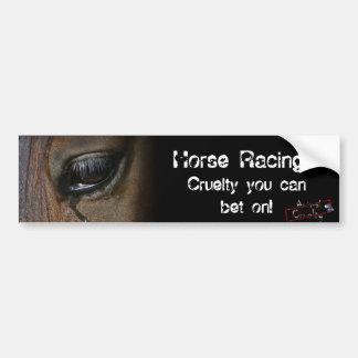 De Sticker van de Bumper van paardenrennen