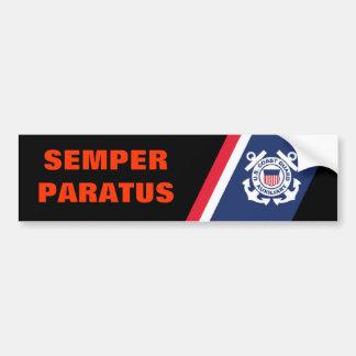 De Sticker van de Bumper van Paratus van Semper