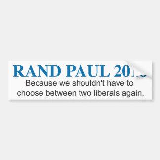 De Sticker van de Bumper van Paul 2016 van de rand