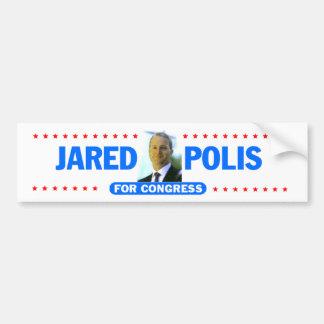 De Sticker van de Bumper van Polis van Jared