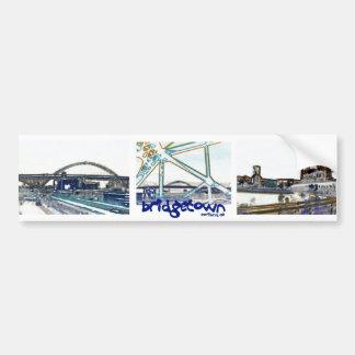 """De Sticker van de Bumper van Portland Oregon """"Brid"""