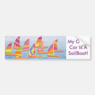 De Sticker van de Bumper van Sailabration