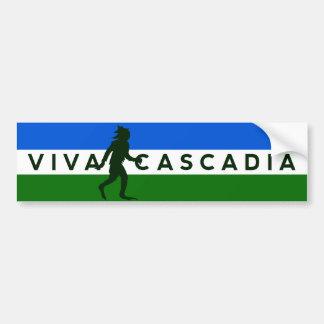 De Sticker van de Bumper van Sasquatch van Cascadi
