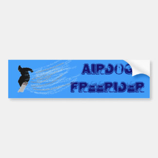 De Sticker van de Bumper van Snowboarding