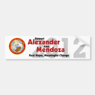 De Sticker van de Bumper van Stewart Alexander 201