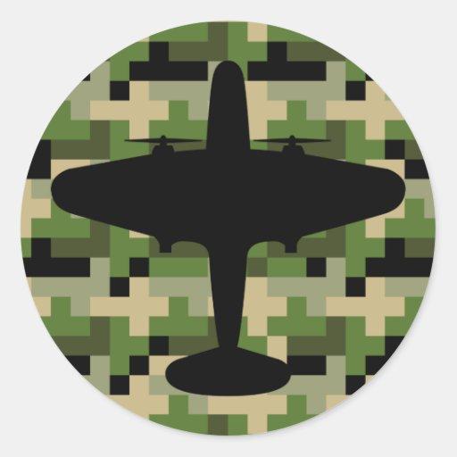 De Sticker van de Camouflage van het Vliegtuig van