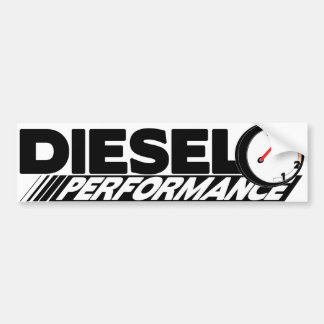 De Sticker van de diesel Bumper van Preformance Bumpersticker