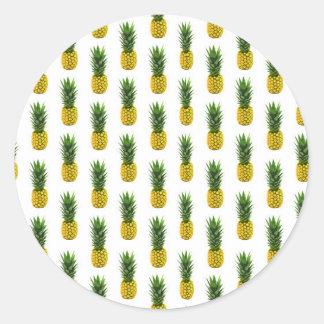 De Sticker van de Druk van de ananas