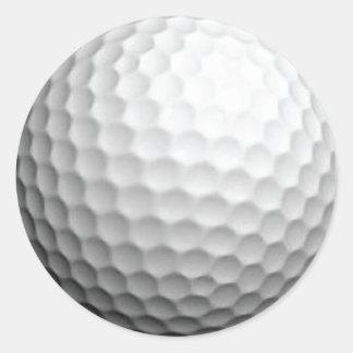 De Sticker van de golfbal