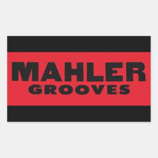 De Sticker van de Groeven van Mahler