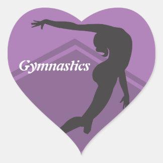 De Sticker van de Gymnastiek van de Oefening van