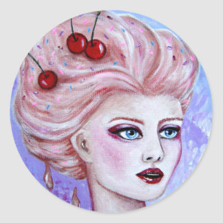 De Sticker van de Ijscoupe van Susie