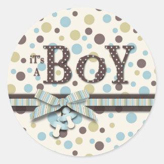 De Sticker van de jongen