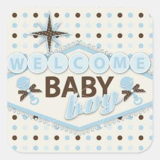 De Sticker van de Jongen van het Baby van Vegas
