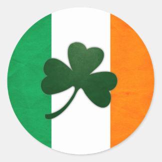 De Sticker van de Klaver van Ierland